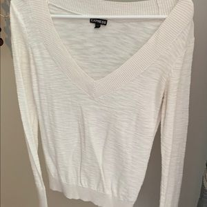 Express v neck sweater will do  3 for 15